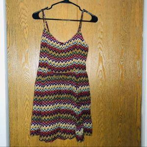 FOREVER21 Zigzag Dress